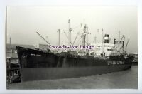 c3222a - US Lykes Line Cargo Ship - Ruth Lykes , built 1945 - photograph