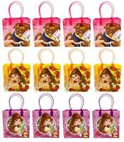 Beauty and the Beast Goody Bags Birthday Party Favors Gift Loot Bags (12pc)