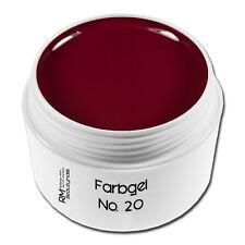 5ml Farbgel Rot Dunkelrot Colorgel Nagelgel UV-Gel Nageldesign Nailart