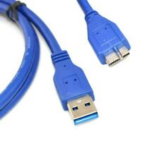 6Ft USB 3.0 A male to Micro B male Data Sync cable for Samsung Note Hard Drive