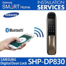 2016 NEW SAMSUNG SHS-DP830 Keyless Push from outside Digital Smart Door Lock