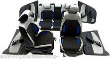 VW Polo 6R GT Alcantara Three Color  Sitz Ausstattung Rücksitzbank  16582