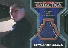 Battlestar Galactica Colonial Warriors Commander Adama Costume Card CC3