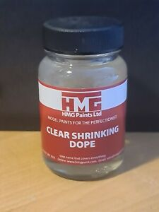 HMG - Model Aircraft Clear Shrinking Dope 60ml For Balsa Kits