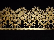decorative edible cake lace in GOLD