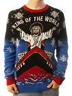 Ugly Christmas Party Sweater Unisex Titanic Jesus King Of The World