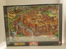 New Educa 1000 Piece Puzzle Middle Ages 16343. Factory Sealed