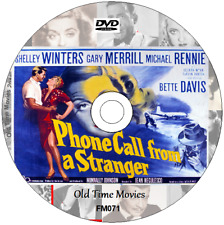 Phone Call from a Stranger - Shelley Winters (1952) Film Movie on DVD 1948