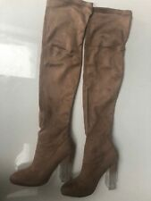 Womens ladies knee high boots size 5