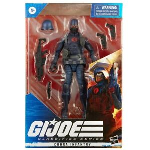 """IN HAND"" HASBRO G.I. JOE CLASSIFIED COBRA INFANTRY ACTION FIGURE"
