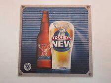 Beer COASTER ~ TOOHEYS Brewery New White Stag ~ I.O.U. Backside Beer Entitlement