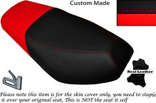 BLACK & RED CUSTOM FITS CPI OLIVER SPORT 50 DUAL LEATHER SEAT COVER ONLY
