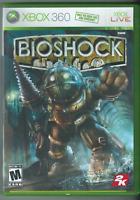 🔥🔥🔥  BioShock (Microsoft Xbox 360, 2007) (w/ Manual) 🎮🎮🎮