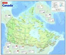 Canadian Geographic Map of Canada Jigsaw Puzzle by Cobble Hill 1000 Pieces NEW