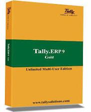 Original Tally ERP 9 Gold Edition Multi User - GST READY