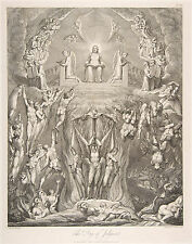 William Blake Engravings: The Grave: The Day of Judgement: Fine Art Print