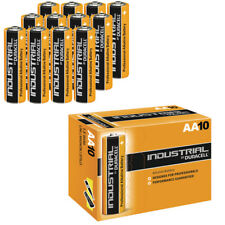10X DURACELL INDUSTRIAL AA BATTERIES ALKALINE 1.5V LR6 MN1500 PROCELL BATTERY LR