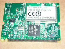 Broadcom BCM94318MPG Mini PCI 802.11b/g Wireless Lan Card T60H906.01 NEW