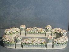 Porcellana di Capodimonte, Centro Tavola, IL Giardino fiorato dai mille colori
