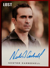 LOST - NESTOR CARBONELL - as Richard Alpert - Autograph Card - Rittenhouse 2010