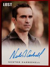 LOST - NESTOR CARBONELL - as Richard Alpert - Autograph Card - Rittenhouse 2010