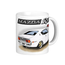 MAZDA  RX4  COUPE  ROTARY  ENGINE  QUALITY  11oz.  MUG (8 DIFFERENT CAR COLOURS)