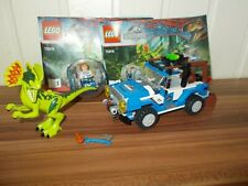 LEGO Jurassic World 75916 L'Embuscade du Dilophosaure personnage notice