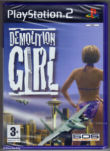 PS2 Demolition Girl, (2005) UK Pal, Brand New & Sony Factory Sealed