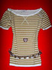VERO MODA SHIRT RocKaBilly ROMANTIK BOHO MARINE STREIFEN S 36 38 NEUW.!!! TOP !!