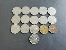 Canada 1923 to 1946 5 Cents George Canadian Nickels 16 coins - Great Starter#2