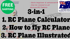 RC PLANES, REMOTE CONTROL PLANES RC Airplane Calculator Lipo Battery Tutorial