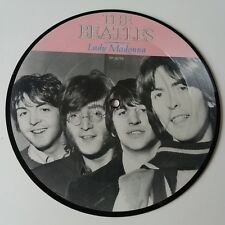 "The Beatles - Lady Madonna 7"" Vinyl Picture Disc Single 20th Anniversary NM"