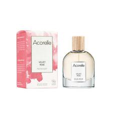 Eau de parfum Bio Acorelle Velvet Rose Vaporisateur 50 ml neuf