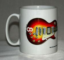 Guitar Mug. Pete Townshend's Cherry Sunburst Gibson Les Paul #8 illustration.