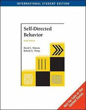 Self-Directed Behavior (Ise), Tharp, Roland G., Watson, David, Very Good, Paperb