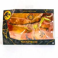 Jurassic World Amber Collection VELOCIRAPTOR ECHO Dinosaur Action Figure - NEW