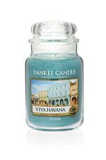 YANKEE CANDLE candela profumata giara grande Viva Havana  durata 150 ore