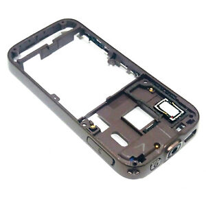 100% Genuine Nokia N85 side rear housing Brown+power volume buttons+card cover