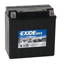 Batterie moto AGM Exide 12V 9AH 120A 135X75X140MM