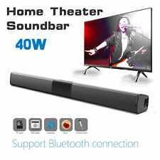 AudioBLUE- Home Theater Bluetooth Sound Bar Speaker System w/Built-in Subwoofer