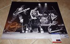 Gene Simmons KISS Signed Autographed 16x20 Photo PSA Certified #5