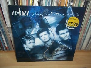 A-HA Stay on these roads GERMAN 1987 WBROS original UK:WX 166 LP with INNER