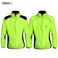 Reflective Cycling Jacket MTB Bike Riding Windproof Jersey Outdoor Sports Coat