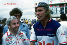 James Hunt & Teddy Mayer McLaren Portrait Brazilian Grand Prix 1977 Photograph