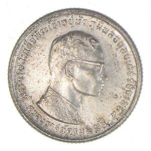 Better Date - 1971 Thailand 10 Baht - SILVER *584