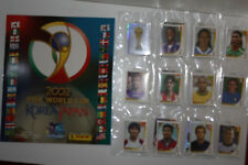 Panini 2002 FIFA WORLD CUP Korea/japón Loose sticker set, empty álbum