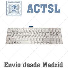 Teclado Español para Satellite C855-21L Blanco