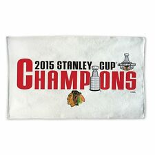 Chicago Blackhawks 2015 Stanley Cup Champions Official Locker Room Towel - New