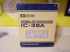Icom 220MHZ FM Transceiver IC-38A