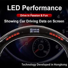 100% Real Carbon Fiber LED Performance Steering Wheel for Jeep wrangler JK JL